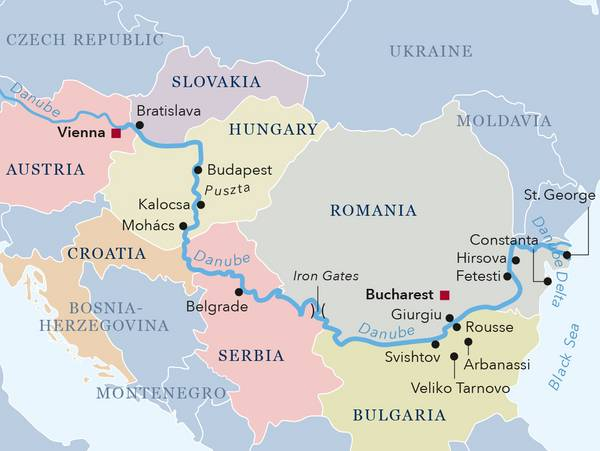 Amadeus River Cruises In Europe Cruise