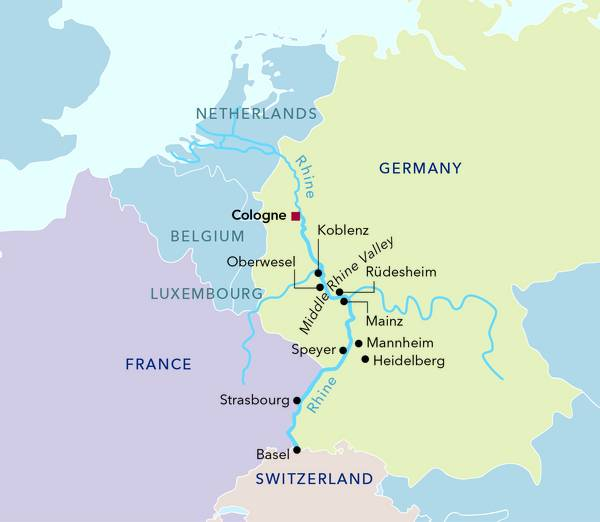 Amadeus | River Cruises in Europe: New Year's Eve Cruise on